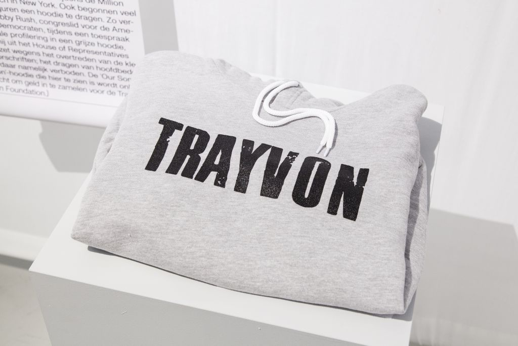Our Son Trayvon Hoodie. LIBERATED PEOPLE. Foto: Franziska Mueller Schmidt.