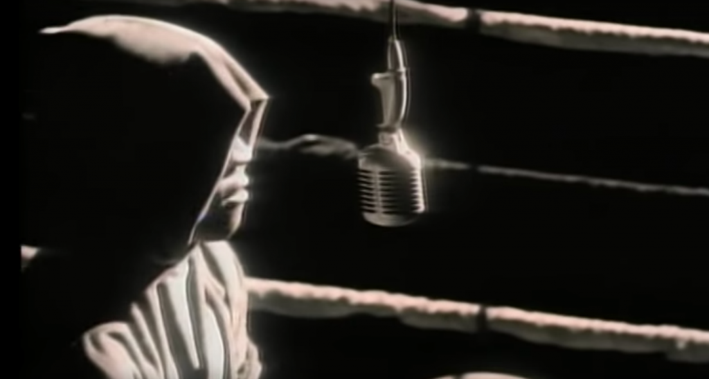 1990 LL Cool J in the video for ''Mama Said Knock You Out'' (screen shot)